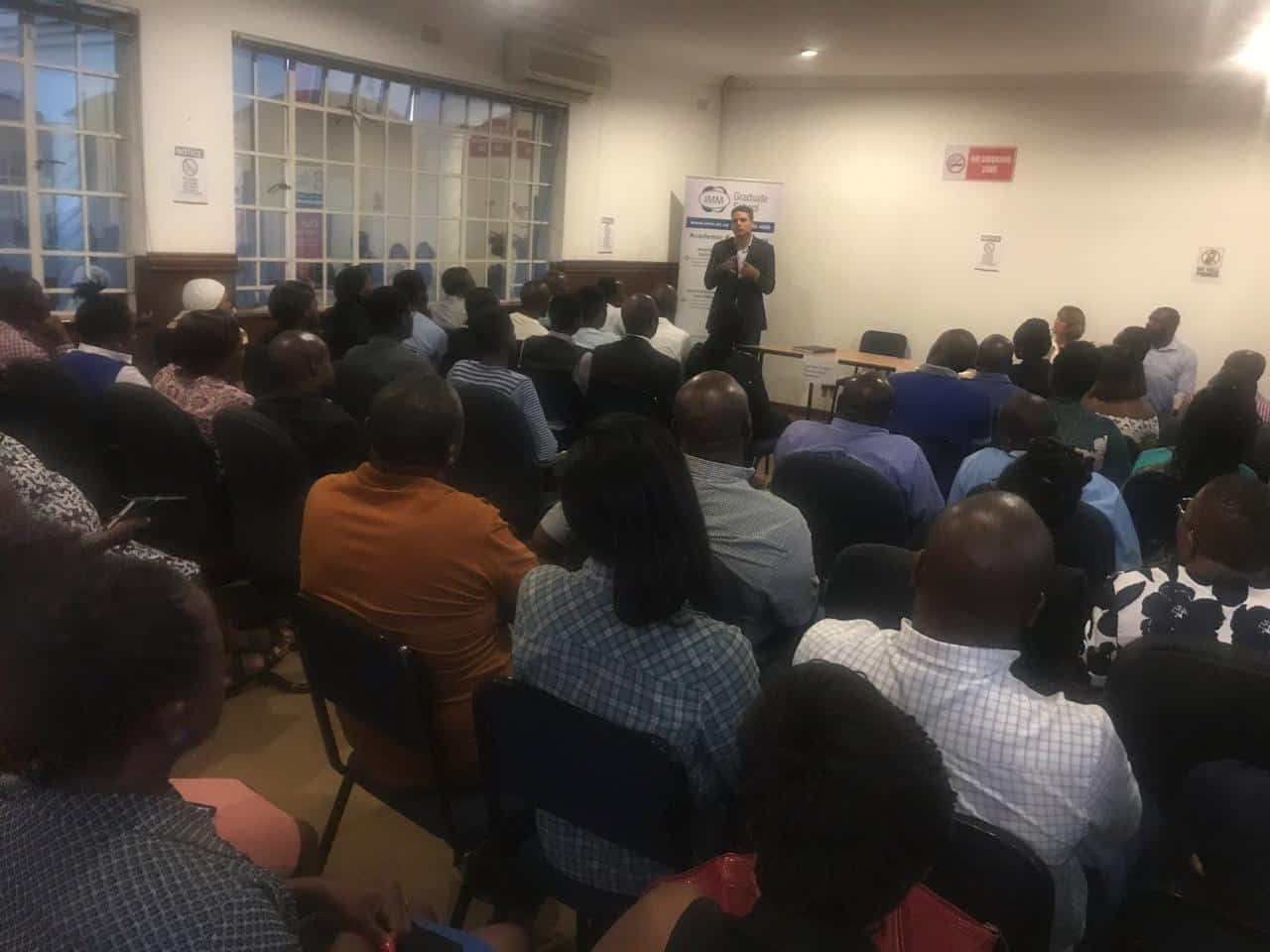 Interact - Student Information Session at Harare